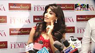 Chitrangada Singh Unveils The Femina Bridal Cover