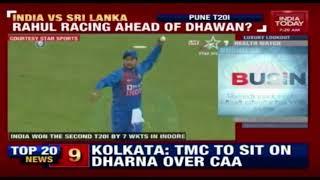 India Eye Series Win IN Pune India 1-0 Ahead Against SriLanka In T20 Series