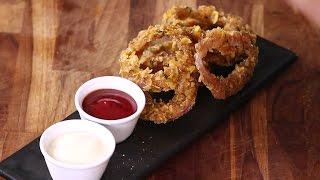 Onion Rings Recipe | Tanya Tandon | Instachef | Sanjeev Kapoor Khazana