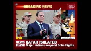 Major Airlines Have Suspended Its Travel To And Fro From Qatar