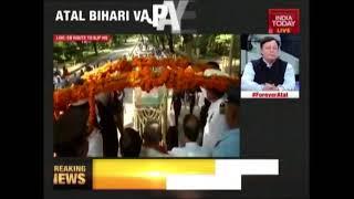 Vajpayee's Last Journey Underway In Delhi   Funeral Live Coverage