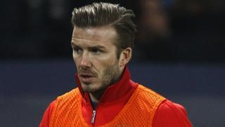 David Beckham pays Paris tribute