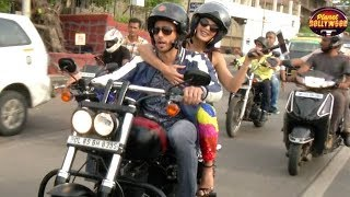 Sidharth & Jacqueline Ride Around The City To Promote 'A Gentleman' | Bollywood News