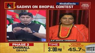 Leaders Slam Sadvi Pragya's Candidature Sadhvi Reacts| Lok Sabha Elections 2019