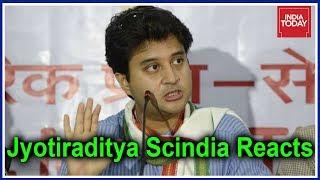 Jyotiraditya Scindia Reacts As Counting Begins #Results2018
