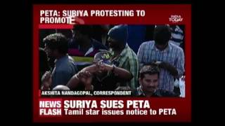 Actor Surya Sends Legal Notice To PETA