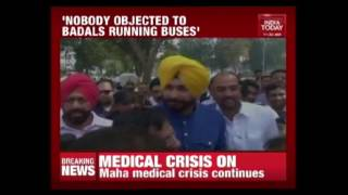 If Badals Can Run Bus Services, Why Can't I Do A TV Show : Navjot Singh Sidhu