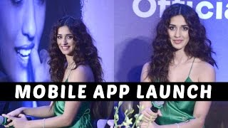 Sexy Disha Patani Launches Her Mobile App
