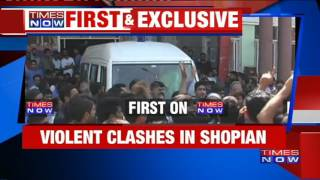 Violent Clashes In Shopian, J&K As Speeding Vehicle Crushes Minor Girl
