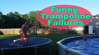 Funny Trampoline Fail Video I Funny Vines 2018