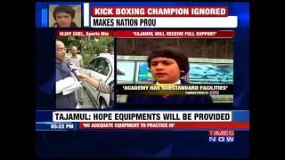 Sports Minister Vijay Goel Comes To Tajamul Islam's Aid