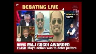 Army Honours Major Who Tied Kashmiri To Military Vehicle