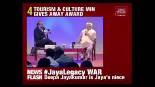 Tourism Minister Gives Away India Today Tourism Awards 2017