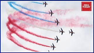 Nations Show Their Best Fighter Plains In 52nd Paris Airshow