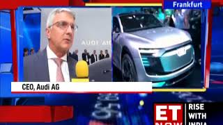 Hormazd Sorabjee Catches Up With Audi Chairman & CEO At The Frankfurt Motor Show