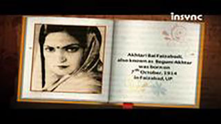 Insync remembers Queen of Ghazals Begum Akhtar on her 100th Birth Anniversary