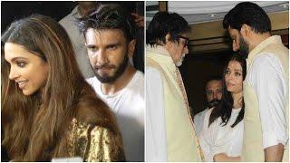 Deepika Chose Friends Over Ranveer | Celebs Attend Aishwarya's Late Father's Pray Meet