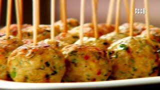 Fried Meat Balls - Tea Time