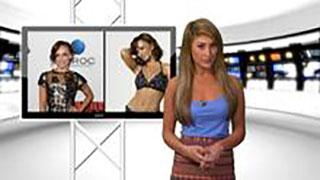 Karina Smirnoff Shows Side Boob
