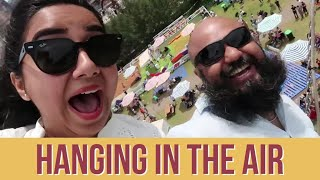 We Were Hanging Off A Swing In The Air!  | Australian Open Vlog | MostlySane