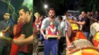 Salman Khan & Family | Ganpati Visarjan 2015 | Celebrations