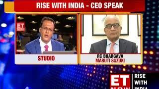 CEO Speak With Maruti's RC Bhargava | #RiseWithIndia