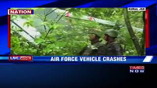 J&K IAF'ss Unmanned Aerial Vehicle Crashes In Kathua