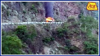 Gas Cylinders Explode In NH-58