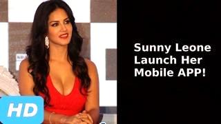 Sexy Sunny Leone Launch Her First Mobile App