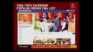 Yogi Adityanath Most Popular Indian Chief Minister On Facebook