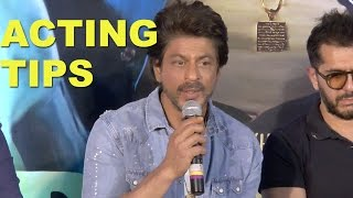 How To Become A Great Actor Tips By Shah Rukh Khan | Raees Trailer Launch