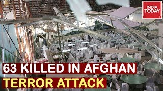 63 Killed In Afghanistan Terror Attack, Fmr Afghan NSA Blames Pak For Kabul Terror Attack