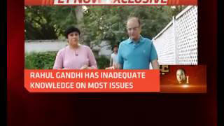 Arun Jaitley To ET NOW: Rahul Gandhi Has Inadequate Knowledge On Most Issues