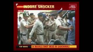 Child Rape Accused Thrashed Outside The Court By Public In Indore