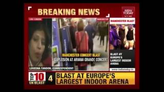 'Suicide Bomber' Hits Ariana Grande Concert
