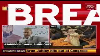 Was Modi Sleeping After Eating Biriyani? : Owaisi Slams PM Over Pulwama Attack