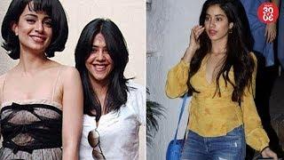 Kangana Ranaut To Star in Ekta Kapoor's Film?   Janhvi Kapoor To Be Managed By Salman's Ex Manager?