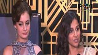 Vidya and Dia On Entertainment Ke Liye Kuch Bhi Karega