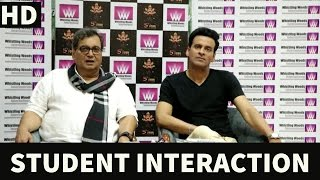 Acting Students Interact With Manoj Bajpayee