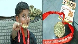 Kashmir's Karate Kid 'Hashim Mansoor' Wins Gold For India | Exclusive