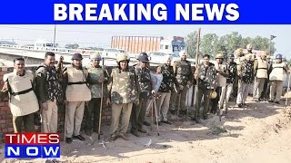 INLD Workers Protest Over Sutlej-Yamuna Link Canal - Heavy Police Deployed
