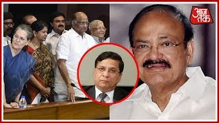 Opposition Parties Including Congress Move For CJI Impeachment; Meets Vice-President Venkaiah Naidu
