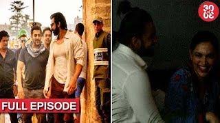 Salman Gets Candidly Captured On 'Tiger Zinda Hai' Set | Deepika–Ranveer Get Spotted On A Date