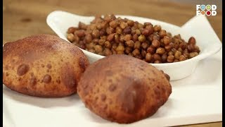 Kale Chane with Rajgira Poori | Navratri Special | Sanjeev Kapoor | Food Food