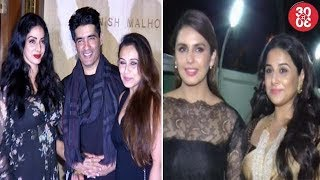 Aishwarya, Rani, Jhanvi Attend Manish's Party Together | 'Partition:1947' Movie Screening