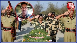 BSF Martyr Sushil Kumar Laid To Rest With Full Military Honours