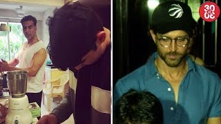 Twinkle Captures Akshay's Cooking Time With Son Aarav | Hrithik Takes Sussanne And Kids For Dinner