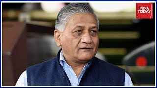 VK Singh To Travel To Iraq's Badush