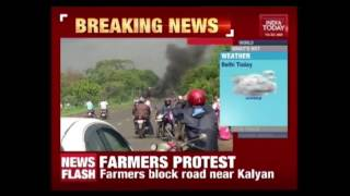 Violence Erupts, Vehicles Set On fire In Kalyan, Thane Badlapur Highway