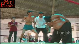 Punjabi Sumo Fighter   || Superhit Punjabi Comedy Scene.